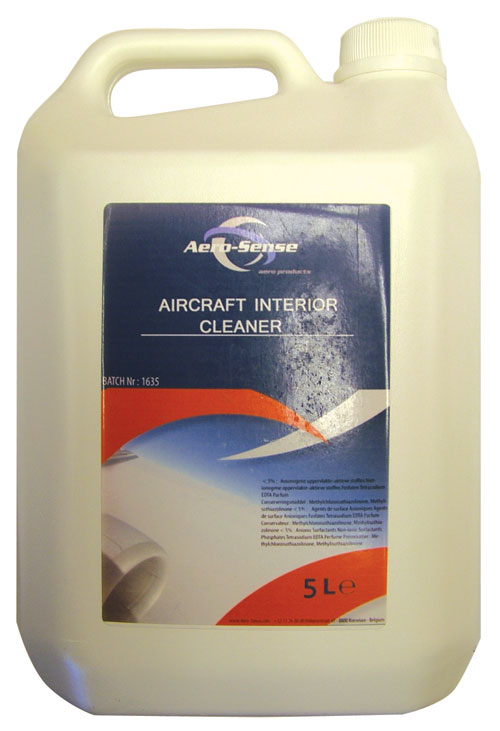Accessories Cleaning Products Sge211 Aerosense Aircraft Interior Cleaner 5 Litre