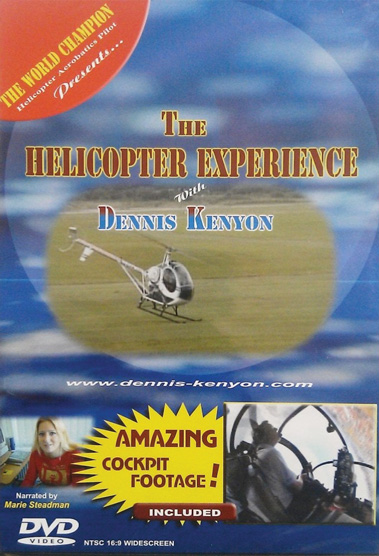 The Helicopter Experience DVD - Kenyon