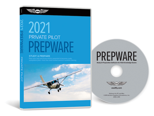 ASA Prepware 2021 - Private Pilot DVD
