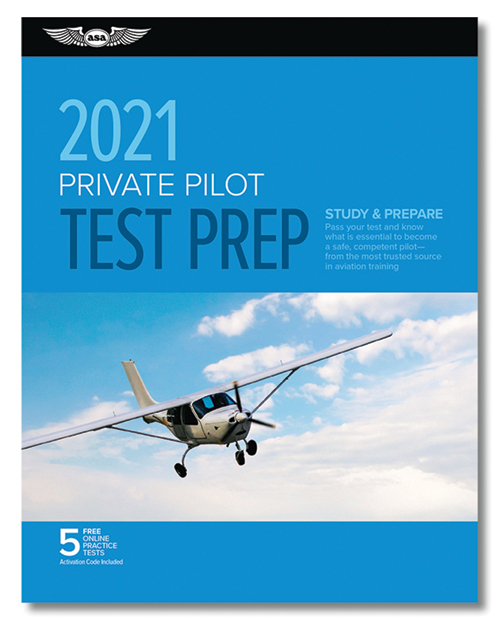 ASA Test Prep 2021 Series - Private Pilot
