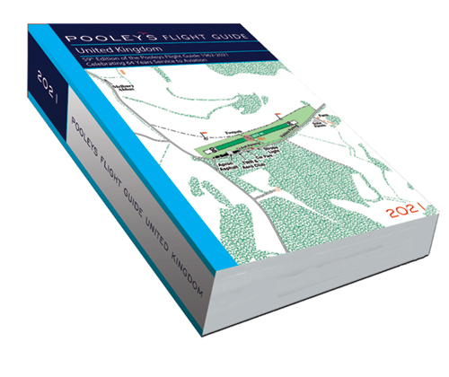 Pooleys 2021 United Kingdom Flight Guide – Bound Edition