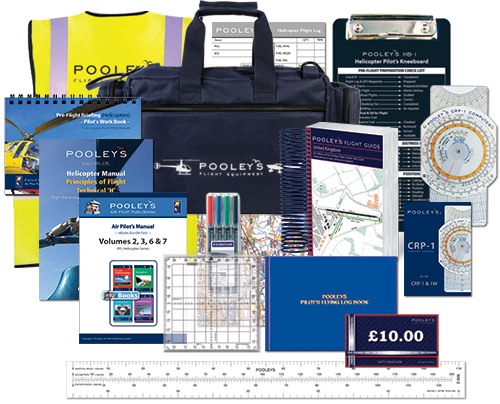 Pooleys PPL Helicopter Pilot's Starter Kit with eBooksImage Id:155073