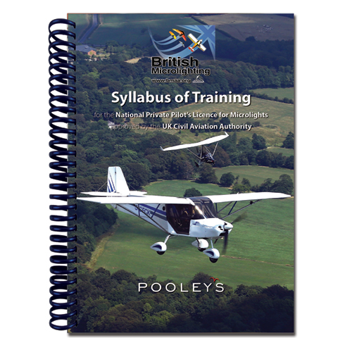 Syllabus of Training for the NPPL for Microlights + Microlight Log Book in BINDER - BMAAImage Id:158255