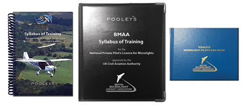 Syllabus of Training for the NPPL for Microlights + Microlight Log Book in BINDER - BMAAImage Id:158256