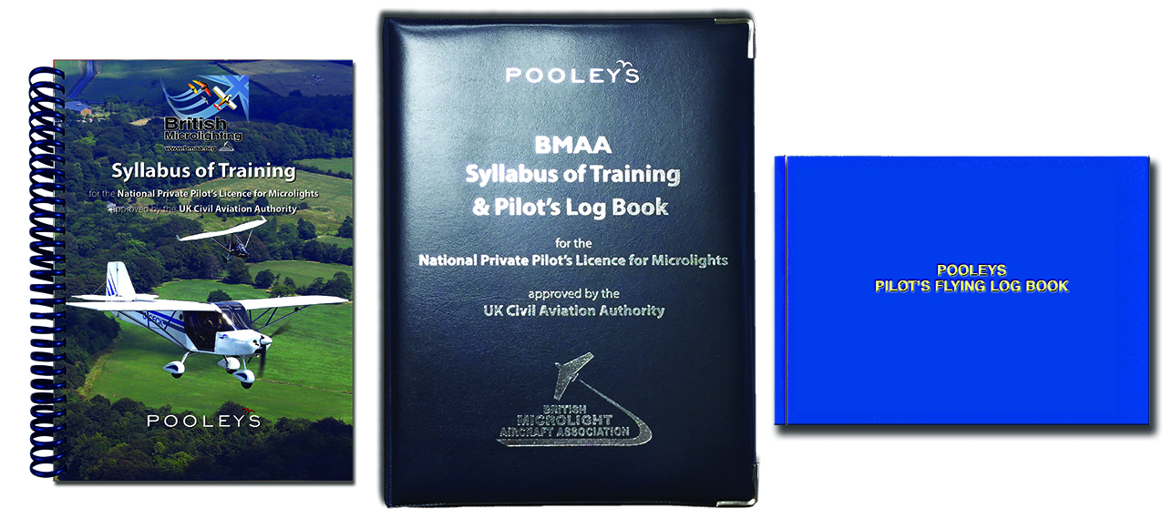 NEW 2021 Syllabus of Training for the NPPL for Microlights + PPL Log Book in BINDER - BMAA