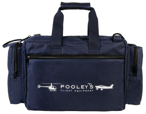 FC-8 Pooleys Pilot's Flight Bag (Navy Blue or Black)Image Id:41636