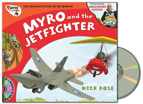 Myro and the Jet Fighter Audio Book