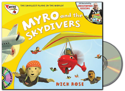 Myro and the Skydivers Audio Book