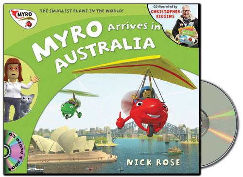 Myro Arrives in Australia Audio Book