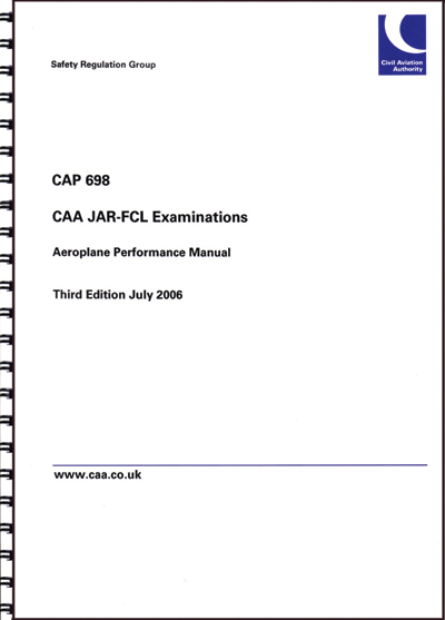 CAP 698 - Performance Manual - CAA