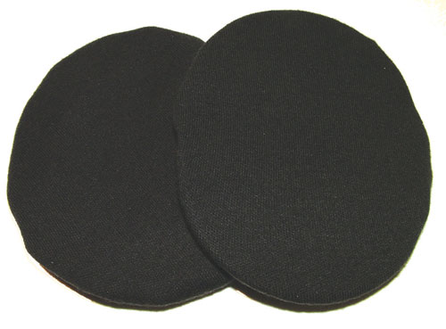Pooleys Cotton Ear Covers - Black, no holes