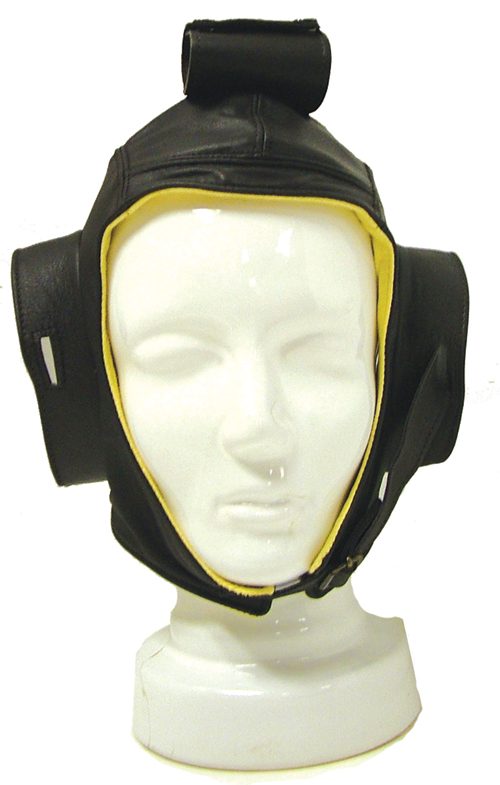 Flying Helmet - Leather with Chamois