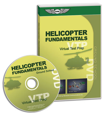 ASA Virtual Test Prep - Helicopters Fundamentals DVD