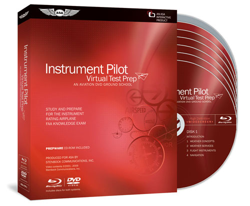 ASA Virtual Test Prep - Instrument DVD
