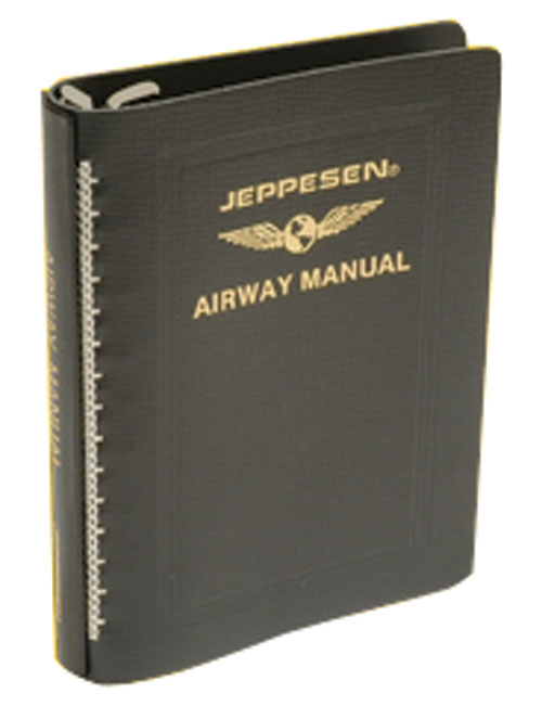 Jeppesen Standard Leather Binder 2