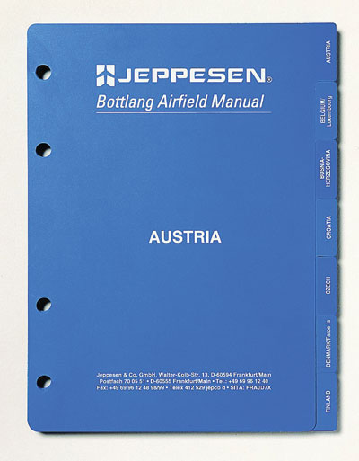 Jeppesen VFR Country Tab Set