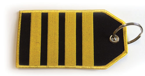 IIII Bar Epaulette – Baggage Tag / Key Ring