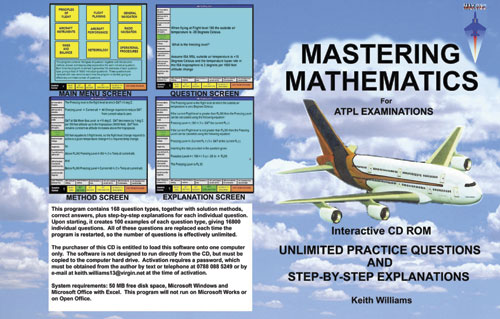 Mastering Mathematics For ATPL Examinations - Keith Williams