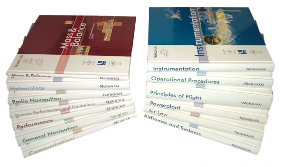 A Complete Set of 15 Nordian Aviation Training Manuals - Nordian