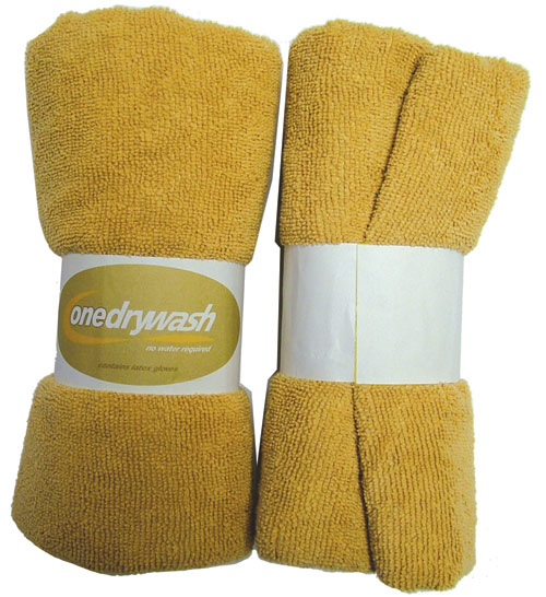 Pooleys Aviation OneDryWash 4 Cloth Pack