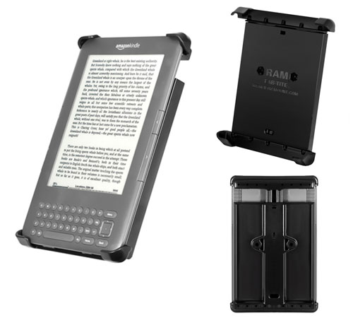 Holder. Tab-tite for Kindle, Kindle Fire & Nexus 7 with or without a case or skin. - Ram Mounts