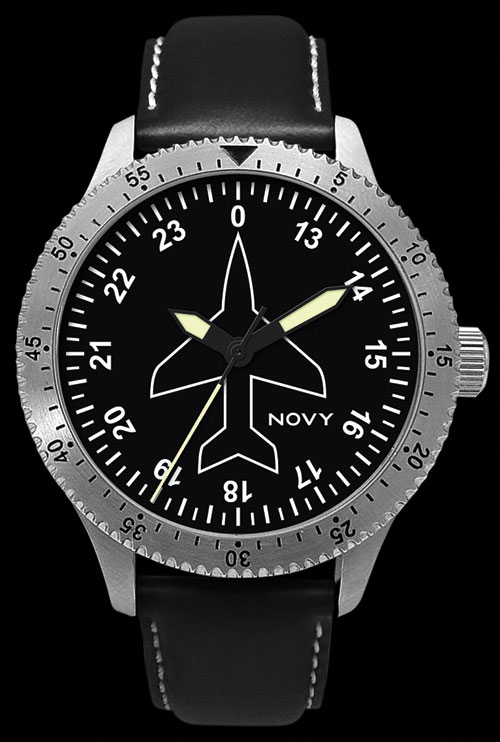 Novy–Swiss made Professional Pilot Watches (GYRO N01-B)Image Id:44752