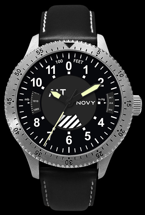 Novy–Swiss made Professional Pilot Watches (ALTITUDE N01-A)Image Id:44754
