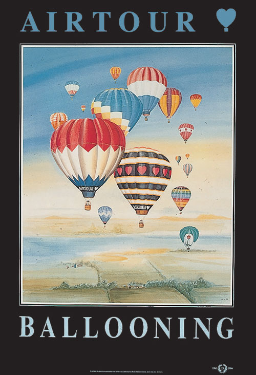Balloon Poster – Yorkshire in Summer - Pooleys