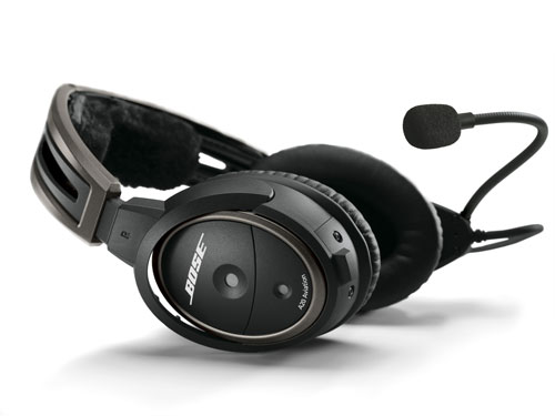 Bose A20 Helicopter Headset with U174 Plug, Bluetooth, Battery Powered, Straight Cable, Hi Imp. (324843-3030)Image Id:47768