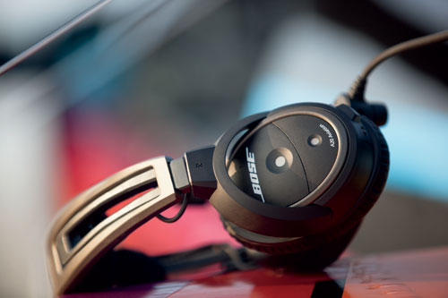 Bose A20 Headset with Fischer Plug, Bluetooth, Battery Powered, Straight Cable, Hi Imp (324843-3050)Image Id:47781