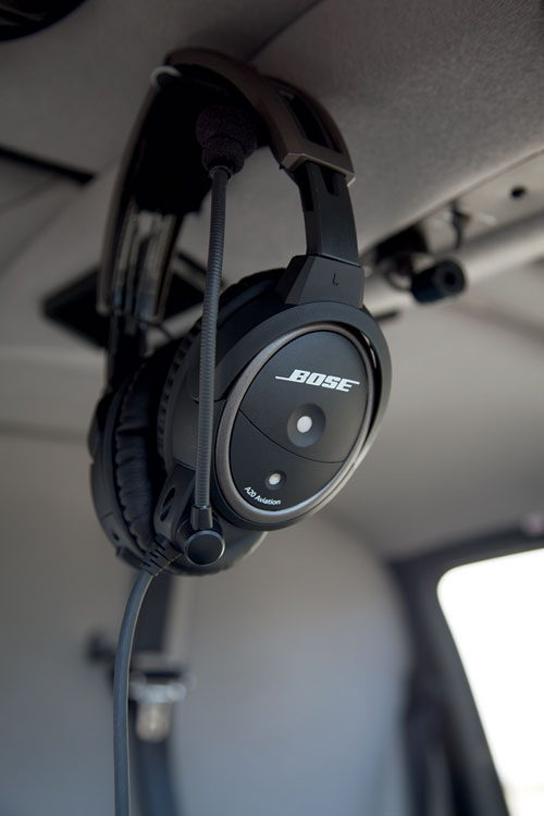 Bose A20 Headset with 6-pin LEMO, Non-Bluetooth, Coiled Cable, Flex, Hi Imp (324843-R040)Image Id:47782