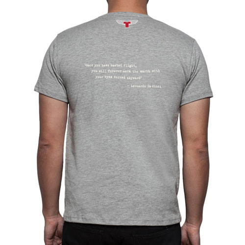 Da Vinci Flight T-Shirt – GREYImage Id:47831