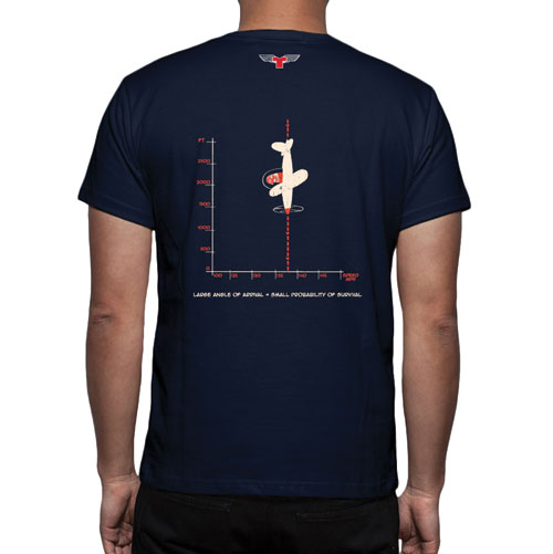 Angle of Arrival Flight T-Shirt – NAVYImage Id:47840
