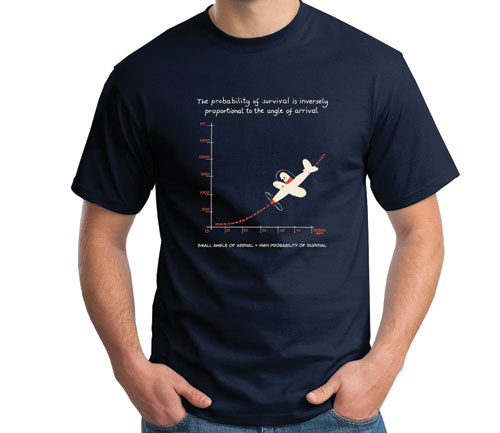Angle of Arrival Flight T-Shirt – NAVYImage Id:47841