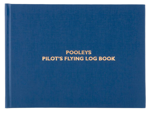 Pooleys Pilot's Flying Log Book
