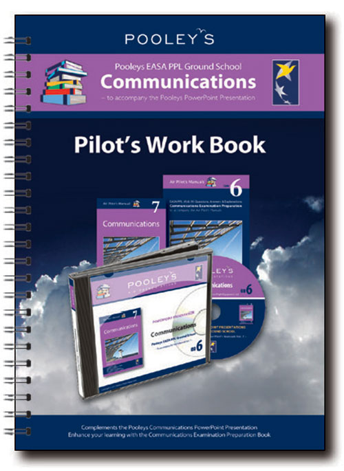 Pooleys Air Presentations – Communications Instructor Work Book (full-colour)