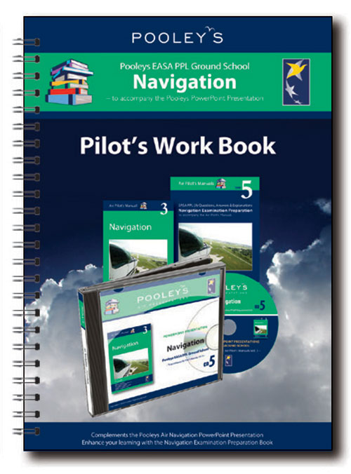 Pooleys Air Presentations – Navigation Instructor Work Book (full-colour) - Pooleys