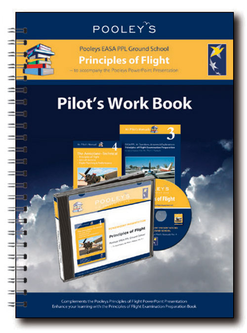 Pooleys Air Presentations – Principles of Flight Instructor Work Book (full-colour)