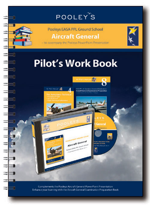 Pooleys Air Presentations – Aircraft General Instructor Work Book (full-colour)