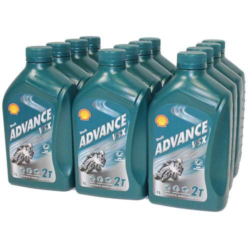 Aeroshell Oil Advance VSX 2T x 12 (1 Litre)