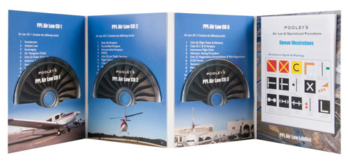 Pooleys Private Pilot's Licence - Air Law Audio (3 x CD's)Image Id:48407