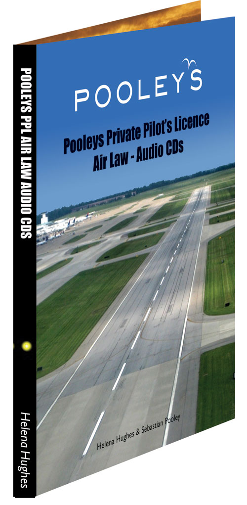 Pooleys Private Pilot's Licence - Air Law Audio (3 x CD's)Image Id:48410