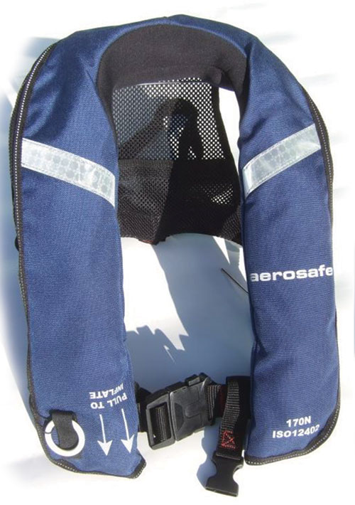 Life Jacket with Spray HoodImage Id:121724