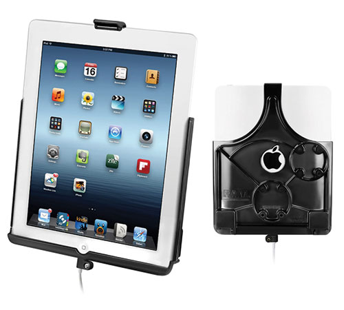Holder for Apple iPad 4 docking (lightning connector) - Ram Mounts