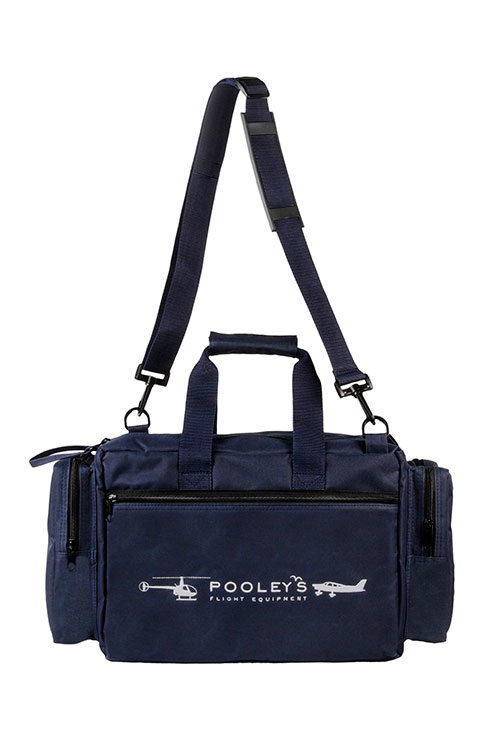FC-8 Pooleys Pilot's Flight Bag (Navy Blue or Black)Image Id:121944