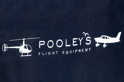 FC-8 Pooleys Pilot's Flight Bag (Navy Blue or Black)Image Id:121947