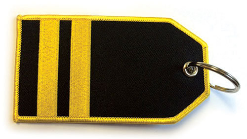 II Bar Epaulette – Baggage Tag / Key RingImage Id:122427