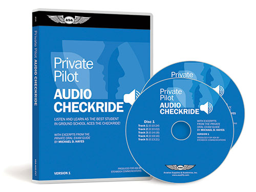 ASA Private Pilot Audio Checkride CD - ASA