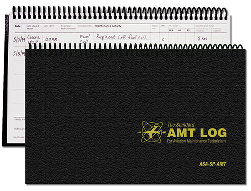 The Standard AMT Log for Aviation Maintenance Technicians