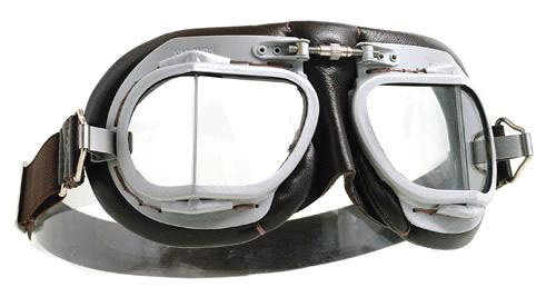 Halcyon Mark 9 Vintage Flying Goggles - Brown - Halcyon